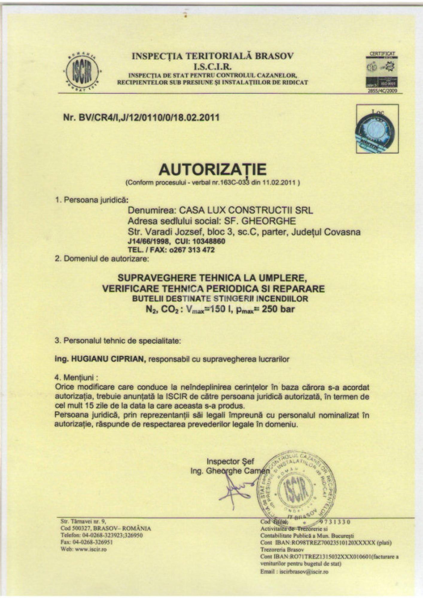 Autorizări 5
