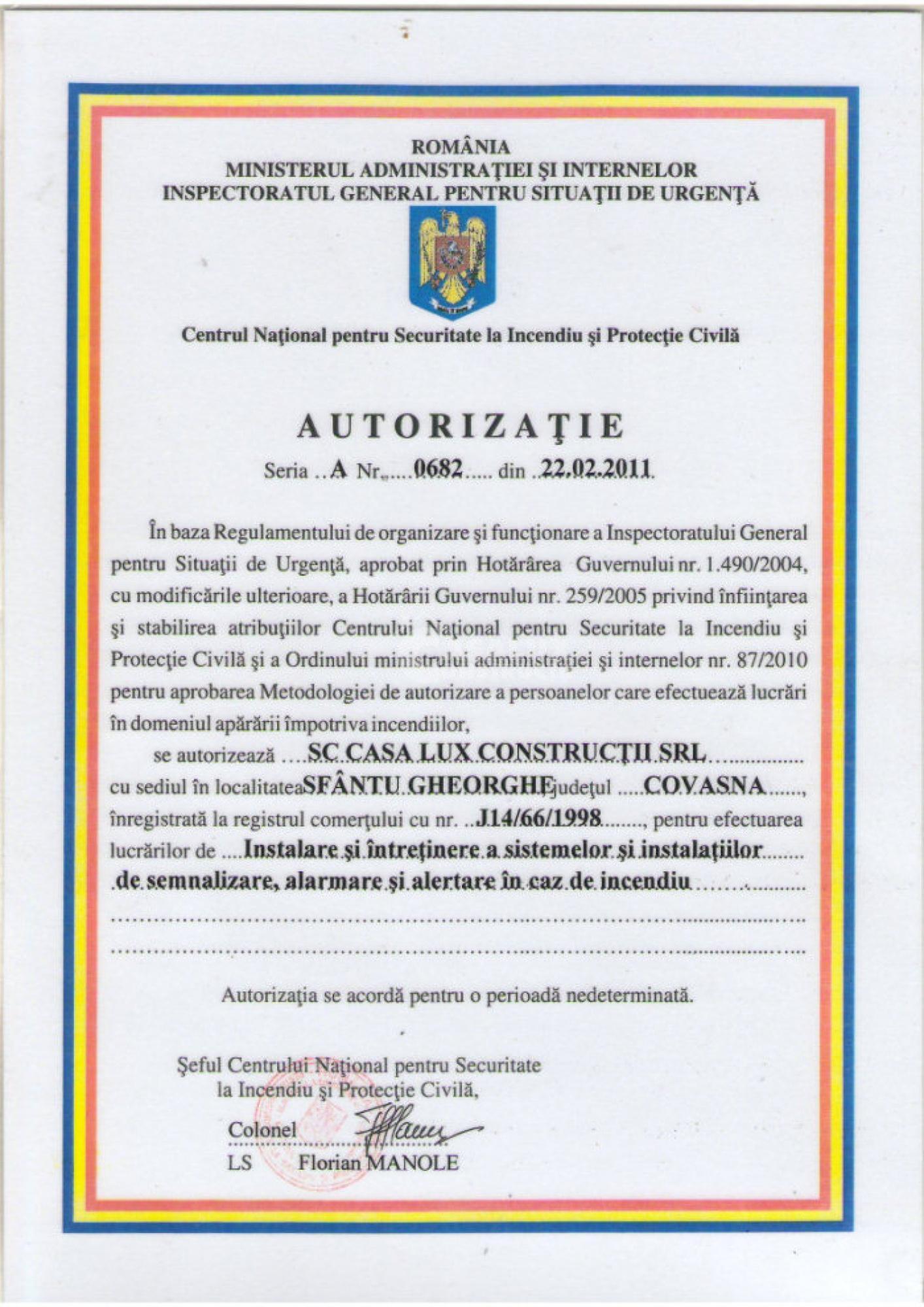 Autorizări 7