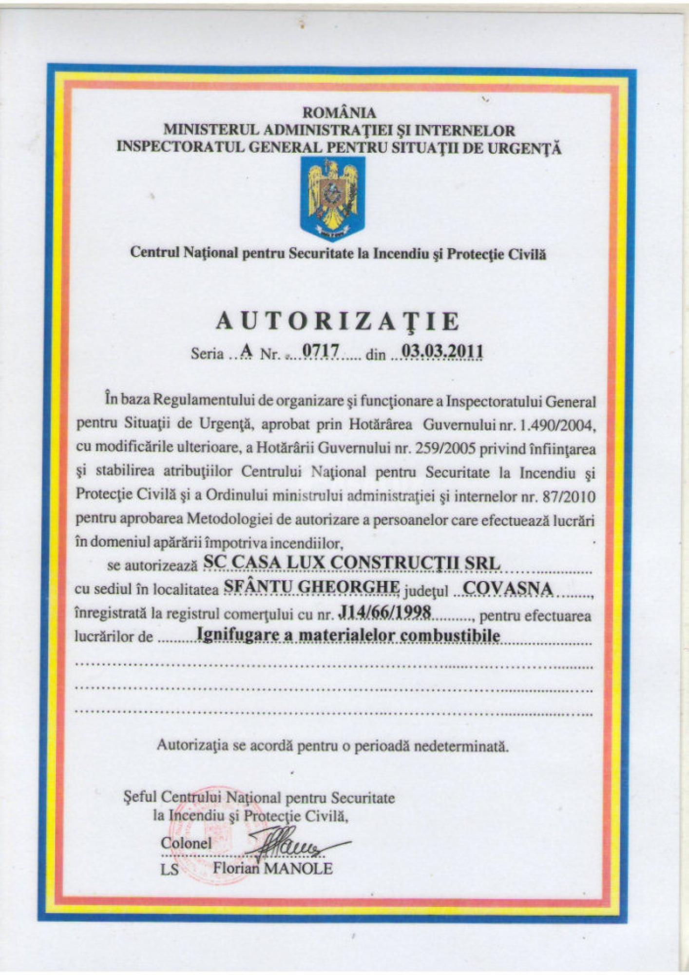 Autorizări 9