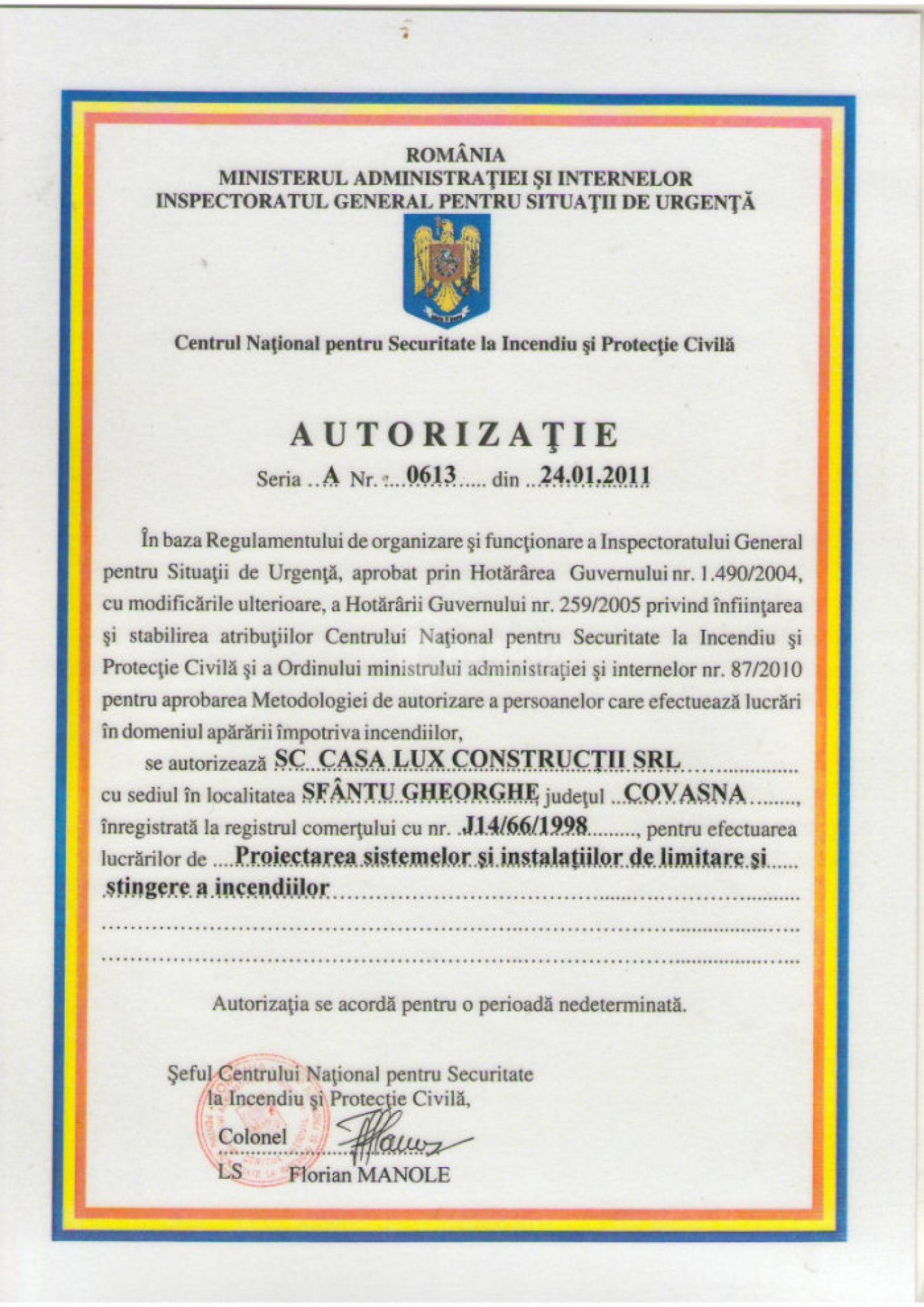 Autorizări 1